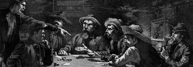 Mexican card players